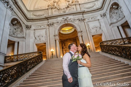 SF City Hall wedding photo (10)