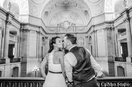 SF City Hall wedding photo (7)