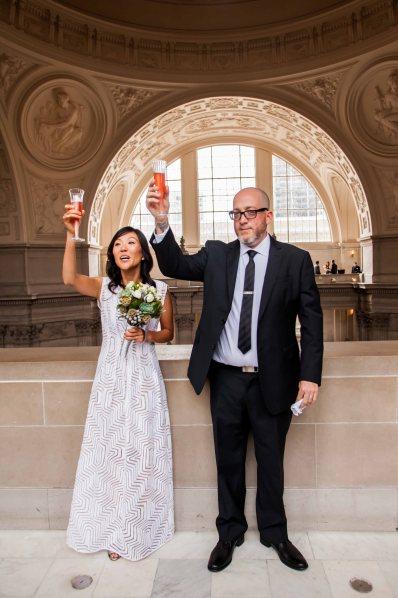 San Francisco City Hall wedding-14
