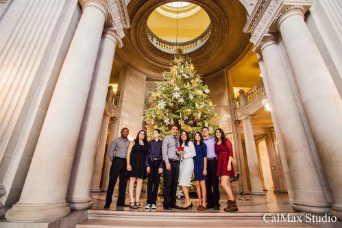 San Francisco City Hall weddding