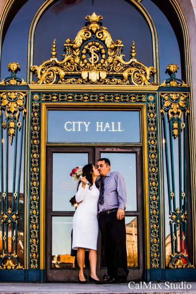 San Francisco City Hall weddding