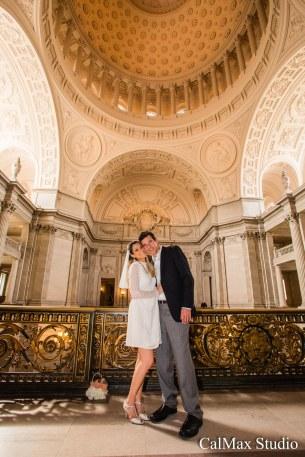 san francisco city hall wedding photo-7