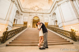 san francisco city hall wedding photo-9