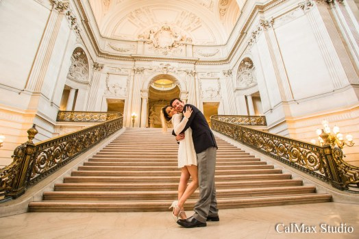 san francisco city hall wedding photo-9